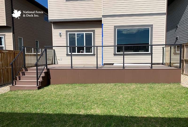 Dual Color Timbertech Terrain Composite Deck