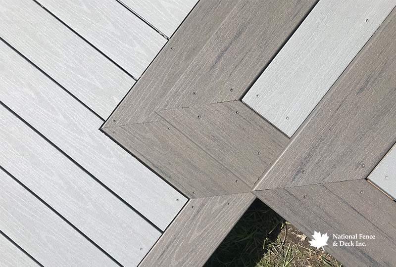 Timbertech Terrain's Silver Maple and Stone Ash Composite Deck
