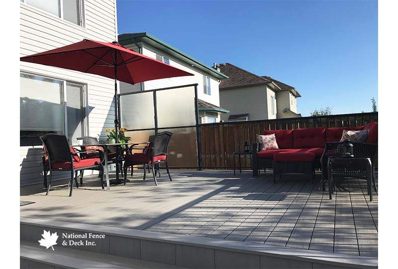 Timbertech's Silver Maple and Sea Salt Gray Deck