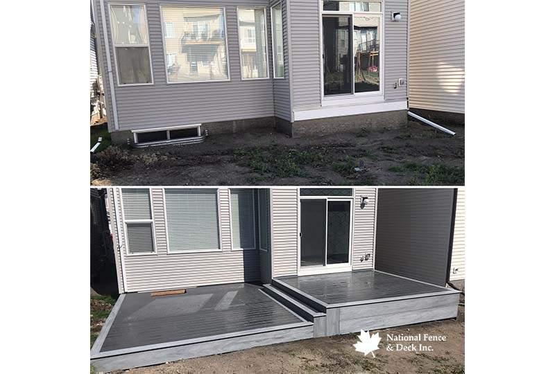 Trex Composite Back Deck