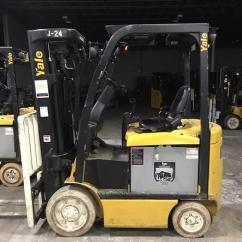 4 Prong Forklift Wiring Diagram For Ceiling Light Used Yale Forklifts High Performance And Parts Erc050vg 5000lb Electric Sit Down Rider Wheel Quad Mast 2013