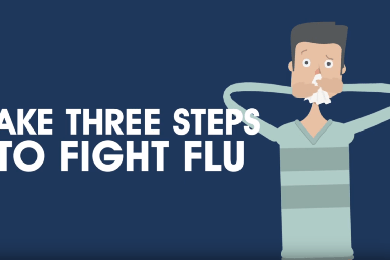Take 3 Steps to Fight Flu