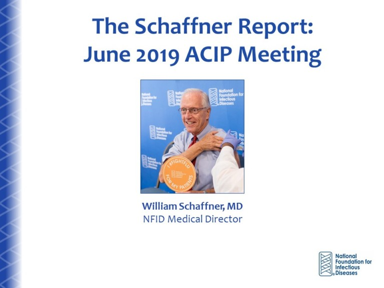 Schaffner Report: The Recommendations, They Are A Changin'…