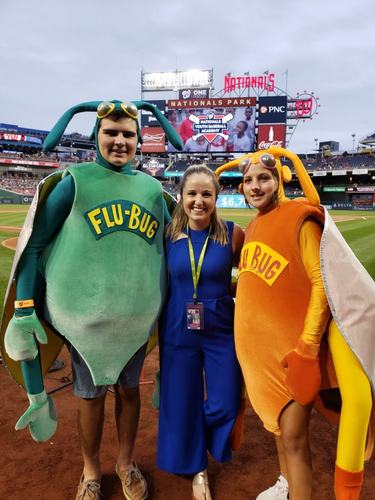 Flu Bugs at Nats Park