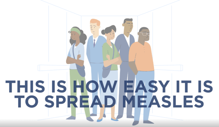 This Is How Easy It Is To Spread Measles