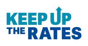 Keep Up The Rates Logo