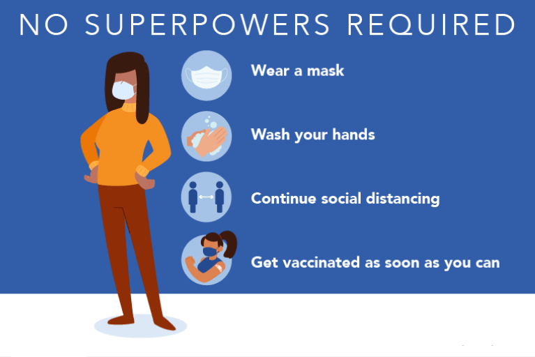 No Superpowers Required COVID-19