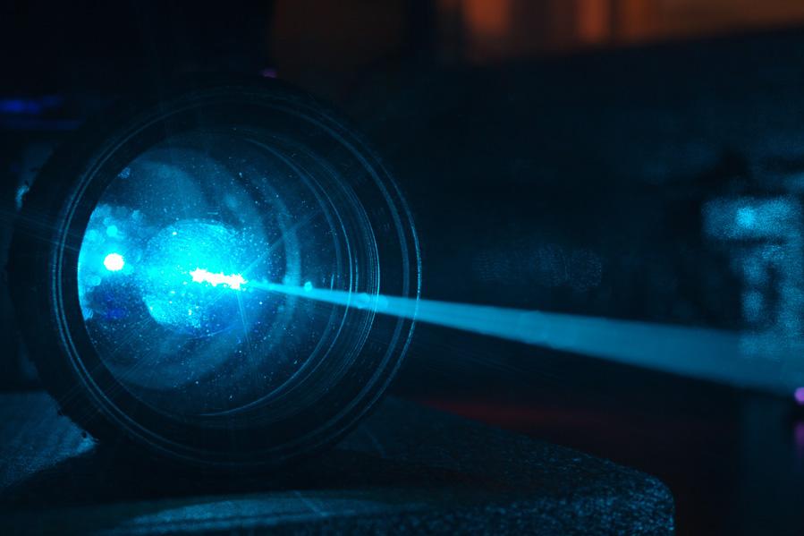 Restoration of the NEC GLG3023 Argon ion laser head