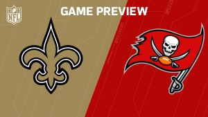 NFL Week 14 Saints vs. Buccaneers