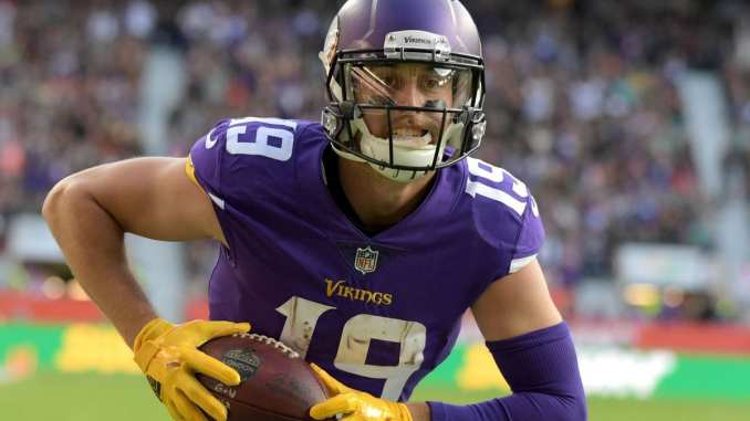 outlet store 8474c 8d9fd Minnesota Vikings: Why Adam Thielen Should Be a Top Fantasy ...