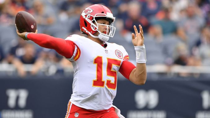 Patrick Mahomes, Kansas City Chiefs, Chargers, Raiders, NFL, Broncos, Cowboys
