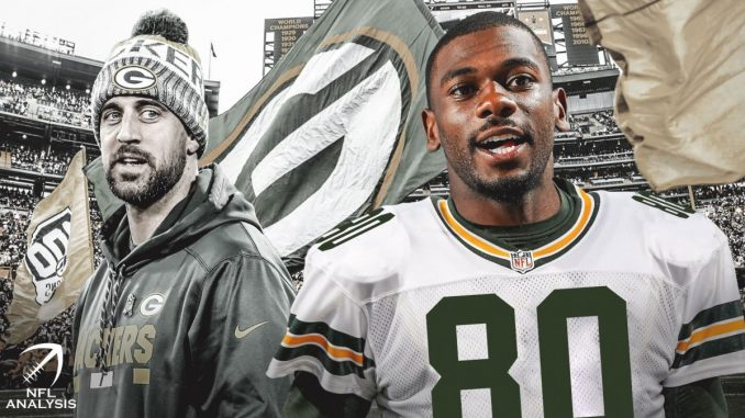 Aaron Rodgers, Devin Funchess, Packers
