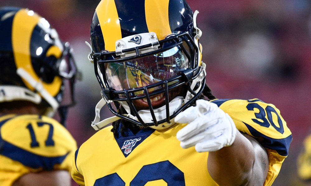 Todd Gurley, Saints, Falcons, Buccaneers, Panthers,, NFL