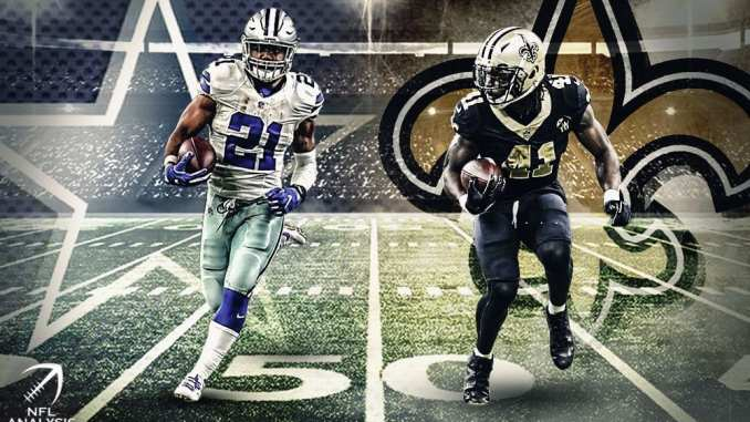 Ezekiel Elliott, Cowboys, Alvin Kamara, Saints