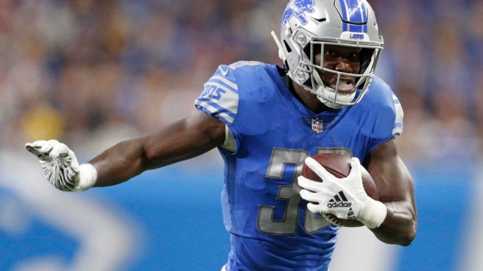 Kerryon Johnson, Lions, Fantasy Football, NFC North