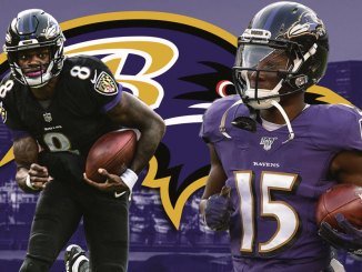 Ravens, Lamar Jackson, Marquise Brown