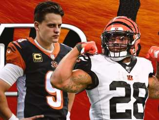Bengals, Joe Burrow, Joe Mixon