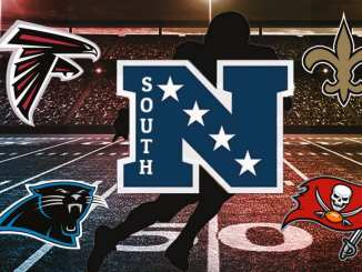 NFC South, NFL, Saints, Falcons, Buccaneers, Panthers