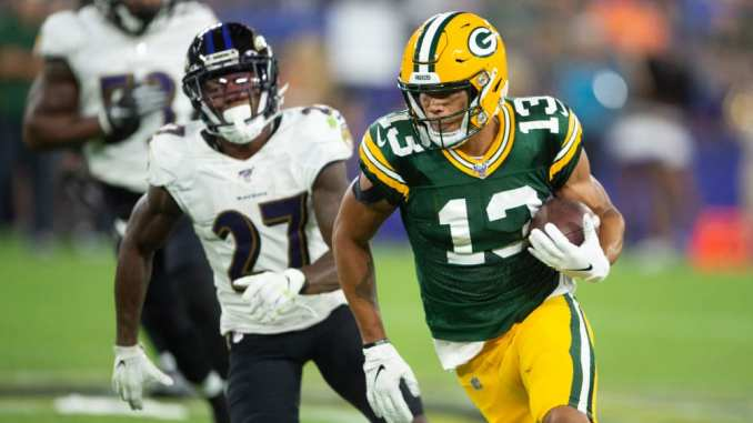 Packers Film Room Is Allen Lazard Ready For The No 2 Receiver Role