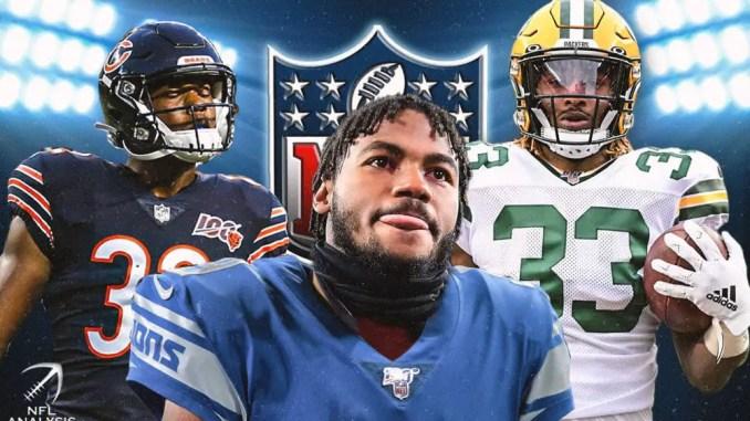NFL, NFC North, Lions, Packers, Bears, Vikings