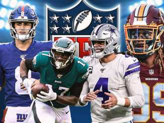 Cowboys, Giants, Eagles, Washington Football Team, NFC East