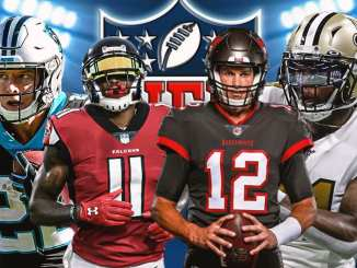 Saints, Buccaneers, Falcons, Panthers, NFL, NFC South
