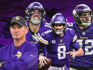 Vikings, Kirk Cousins, Mike Zimmer, Adam Thielen, Harrison Smith