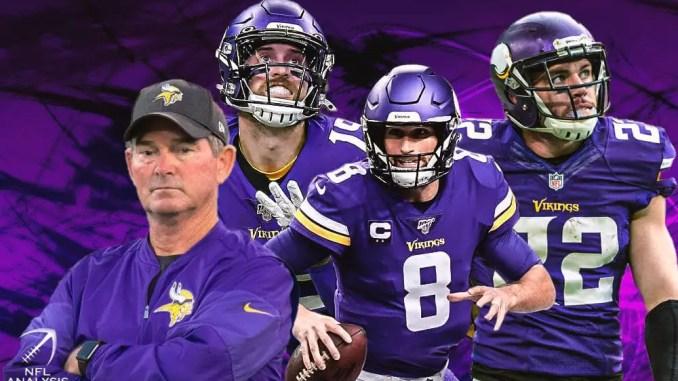 Vikings, Kirk Cousins, Mike Zimmer, Adam Thielen, Harrison Smith