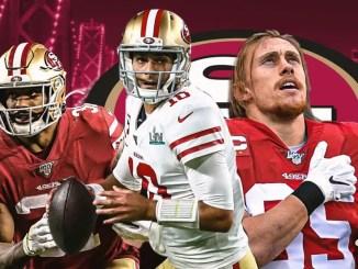 49ers, Jimmy Garoppolo, George Kittle