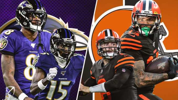 Ravens, Browns, NFL