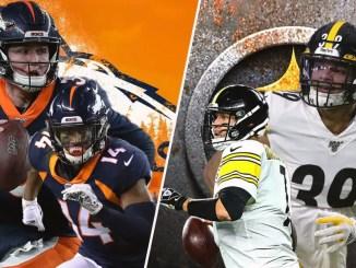 Broncos, Steelers