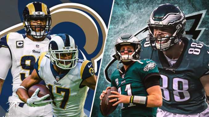 Rams, Eagles