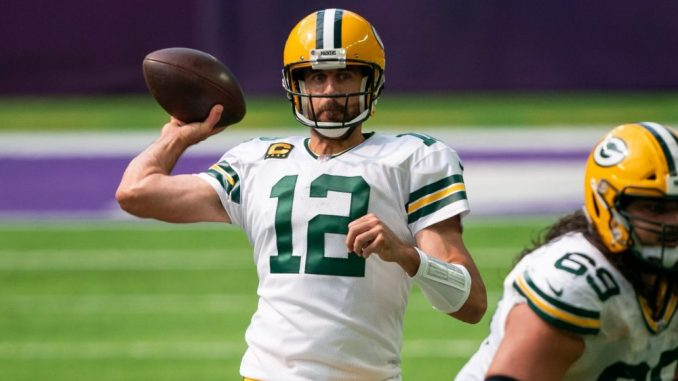 Aaron Rodgers, Packers, Vikings