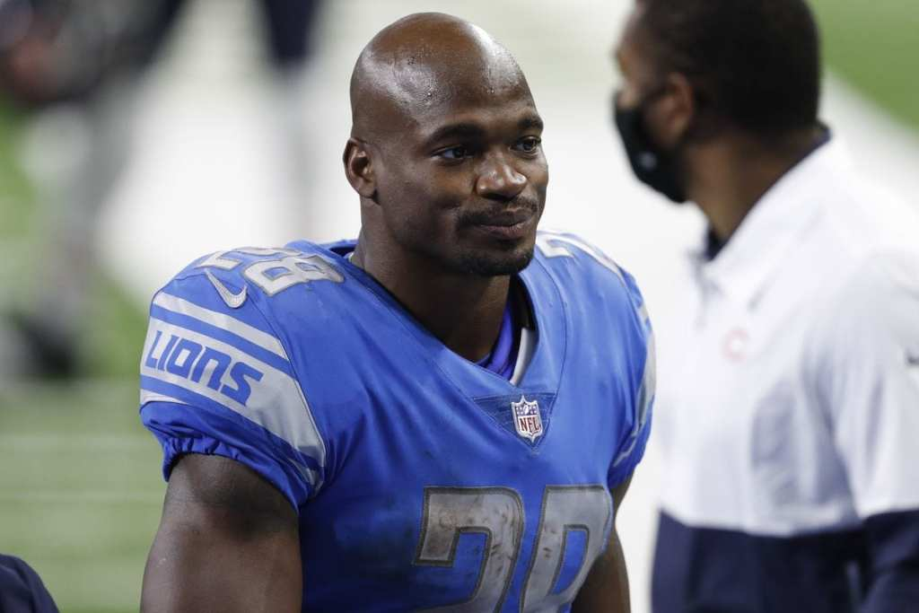 Adrian Peterson, Lions, Packers
