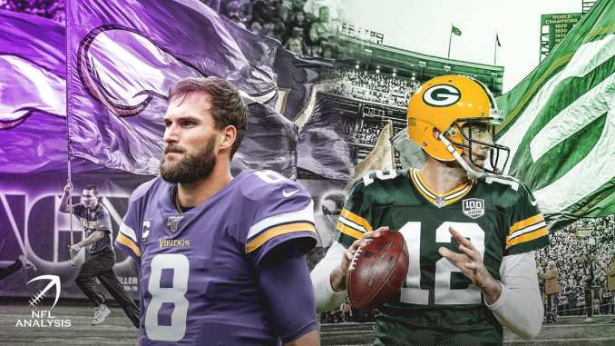 Kirk Cousins, Aaron Rodgers, Packers, Vikings