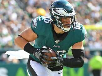Zach Ertz, Packers, Eagles, Bears
