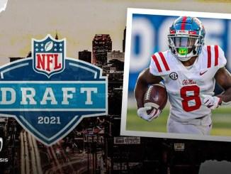 Elijah Moore, NFL Draft