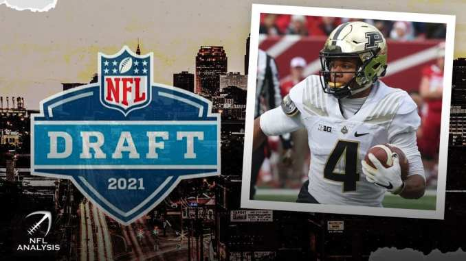 Rondale Moore, NFL Draft