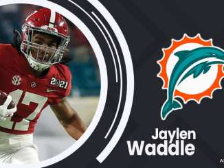 Jaylen Waddle, Dolphins
