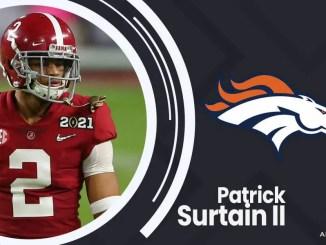 Denver Broncos, Patrick Surtain II, 2021 NFL Draft