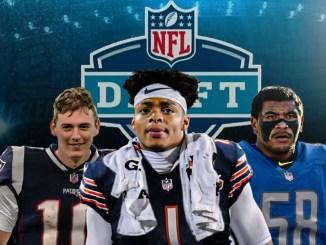 Lions, Bears, Patriots, NFL Draft
