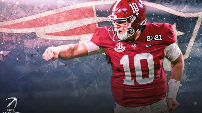 Mac Jones, New England Patriots, 2021 NFL Draft