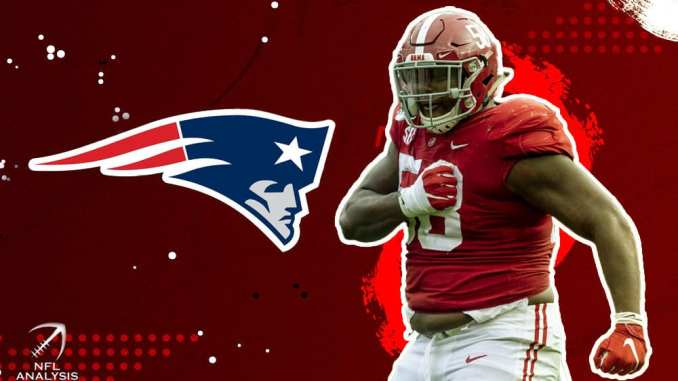 New England Patriots, Christian Barmore, 2021 NFL Draft