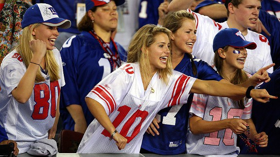 Most popular NFL jerseys among women in the US