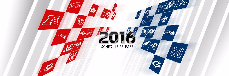 2016 NFL regular season schedule announced