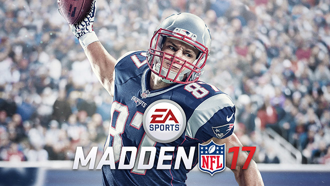 Gronkowski announced as the cover of EA's Madden 17