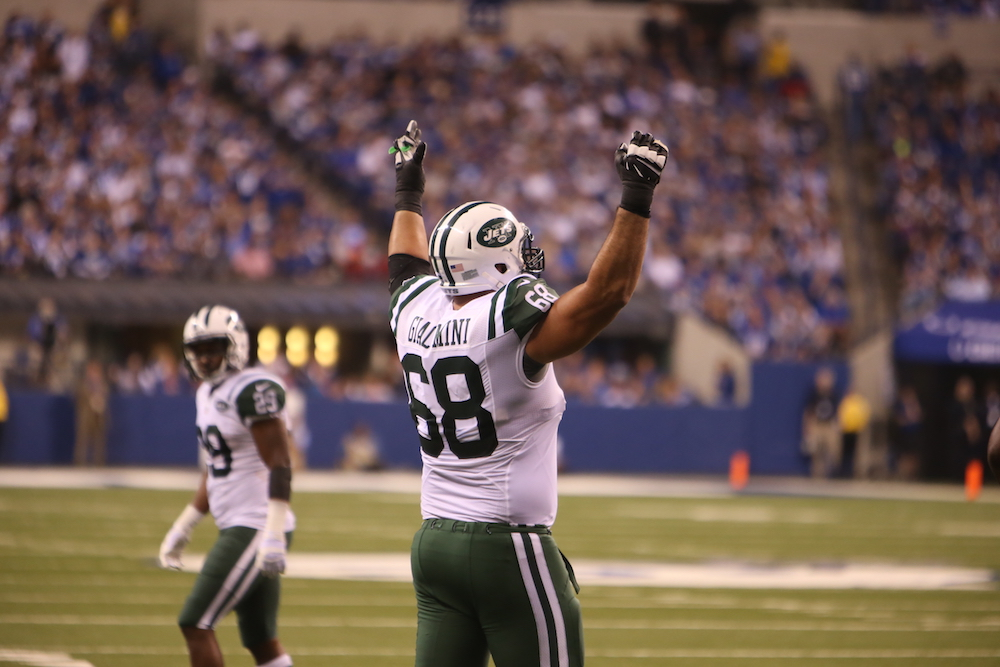 A day in the life of … Breno Giacomini, offensive tackle for New York Jets