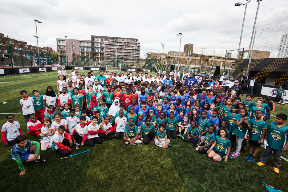 More than 1,000 children to take part in NFLUK's Play 60 'Summer Bowl'