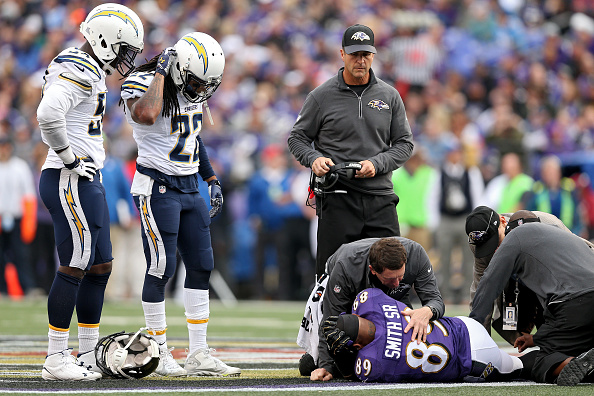 Will injury once again ruin the Ravens' season?