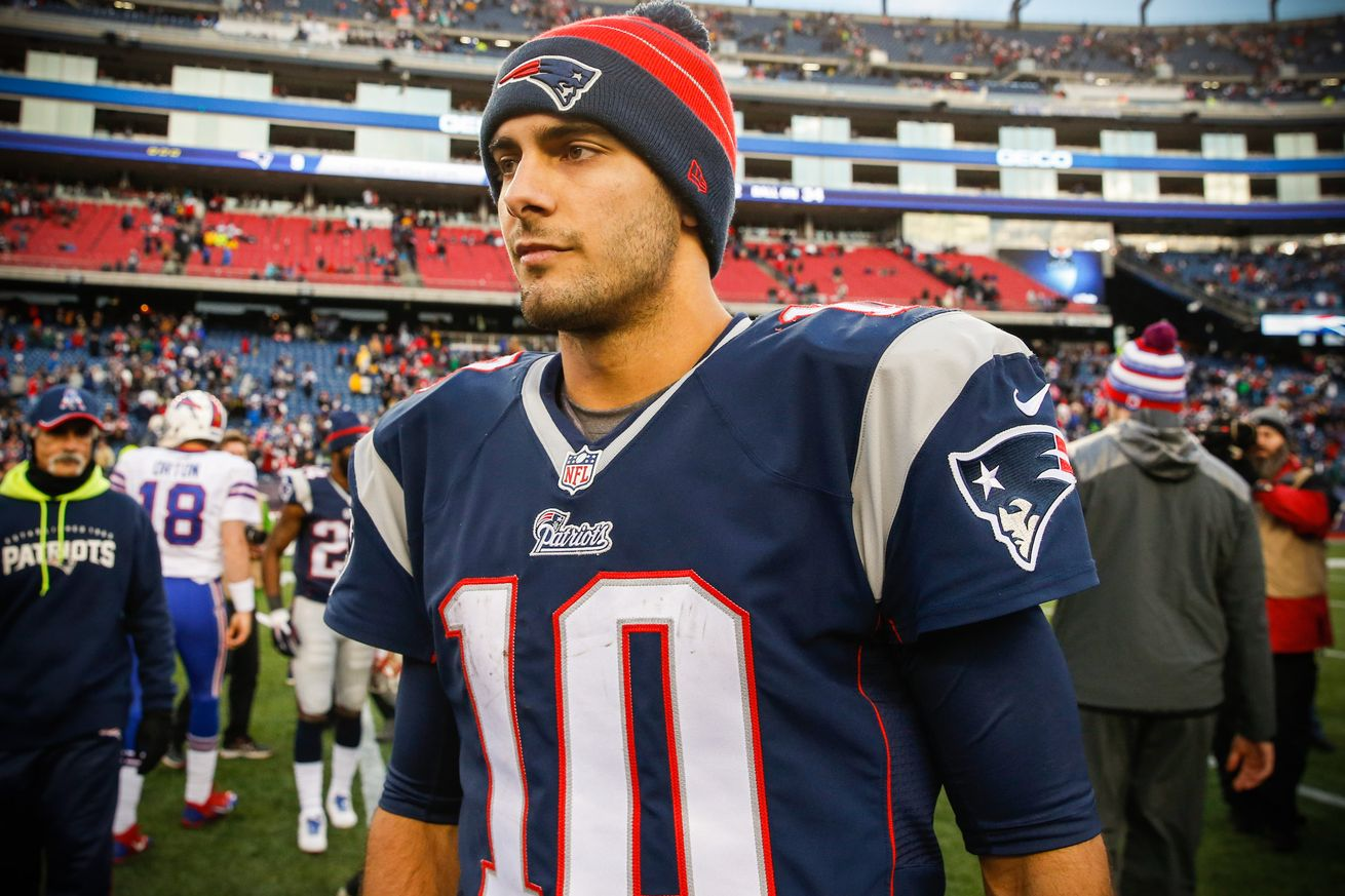 The Garoppolo Experiment